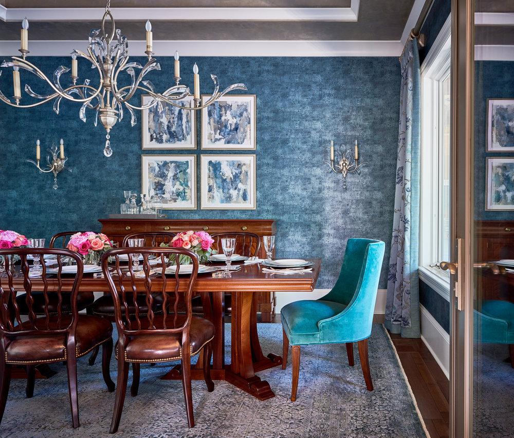 WSHID Lake Home Teal Dining Room.jpg