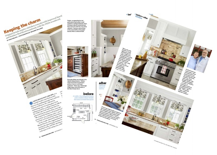 An insider's glimpse of our project, featured in This Old House Magazine.