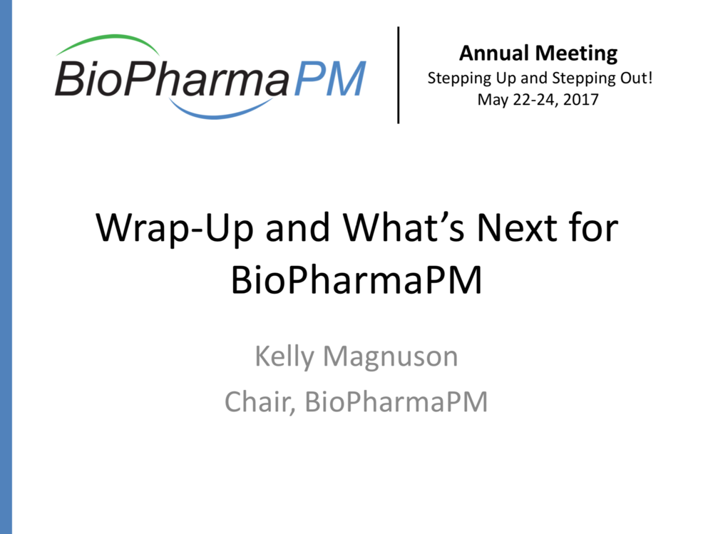 Kelly Magnuson    BioPharma PM