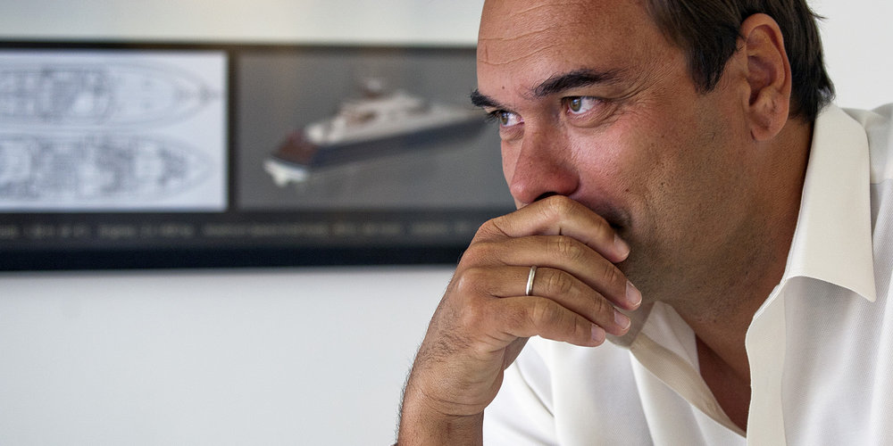 Ivan Erdevicki - Owner and President of ER Yacht Design