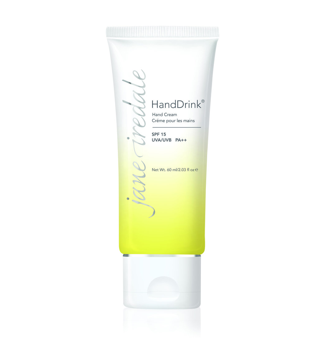 HandDrink® Hand Cream  A skin-quenching formula with SPF 15 broad spectrum sunscreen and a refreshing hint of lemongrass.