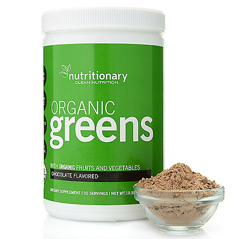 Certified Organic Super Food Blend  Even if you are already eating clean and balanced you may still not be getting the nutrients you need from your food supply. Allow Nutritionary and my delicious Chocolate Greens mix to help support your diet with the goodness of phytonutrient rich fruits, vegetables and greens in an easy to use drink mix.
