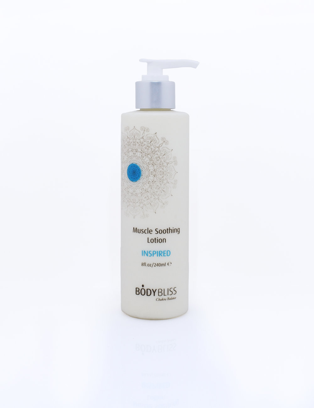INSPIRED Organic Mint & Arnica Muscle Soothing Lotion  INSPIRED corresponds to the color blue and nourishes the 5th Chakra. With Arnica, Menthol and Clove in a deeply nourishing, moisturizing base, INSPIRED Lotion has a 'cold heat' effect that is refreshing and stimulating to the mind. USE THE CODE  HEATHER  AND RECEIVE A 20% DISCOUNT!
