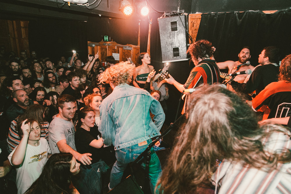 Review - '...The entire night was filled with literal blood, sweat and tears produced by a few casualties in the heart of the mosh'.