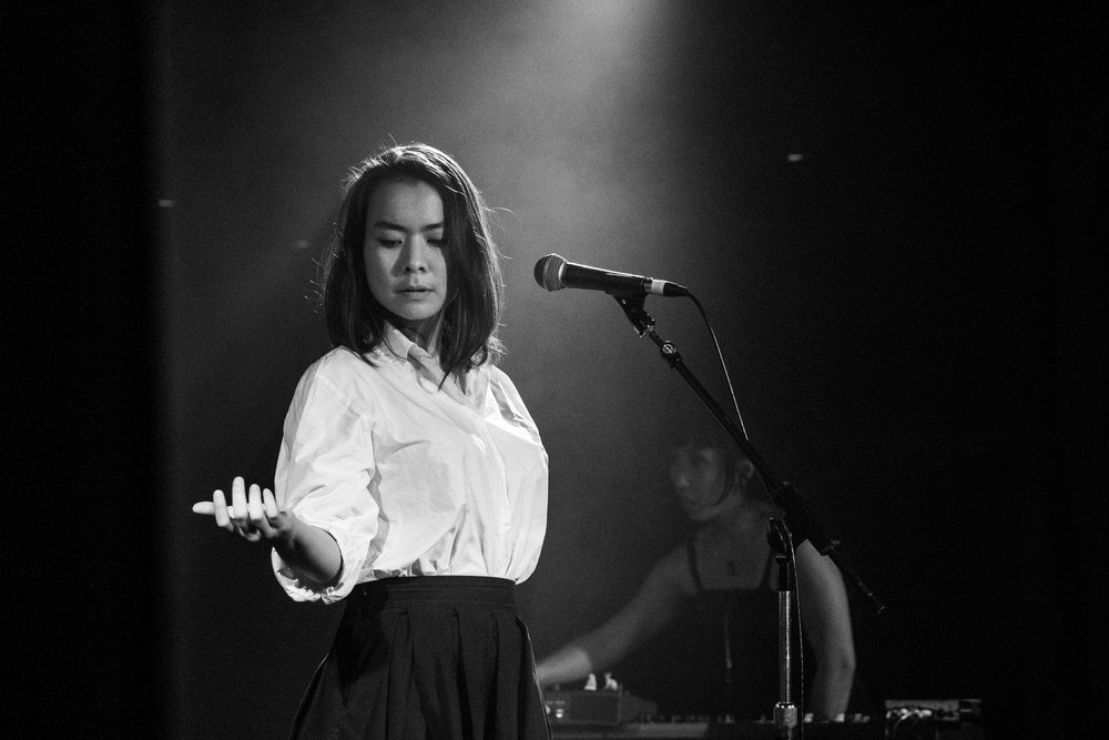 "Review - ""… Mitski is a laser beam. With a voice like champagne and lyrics like a splash of ice cold water in your face. Her melodies are a call to arms and the songs. Oh, Jim, the songs. ."""