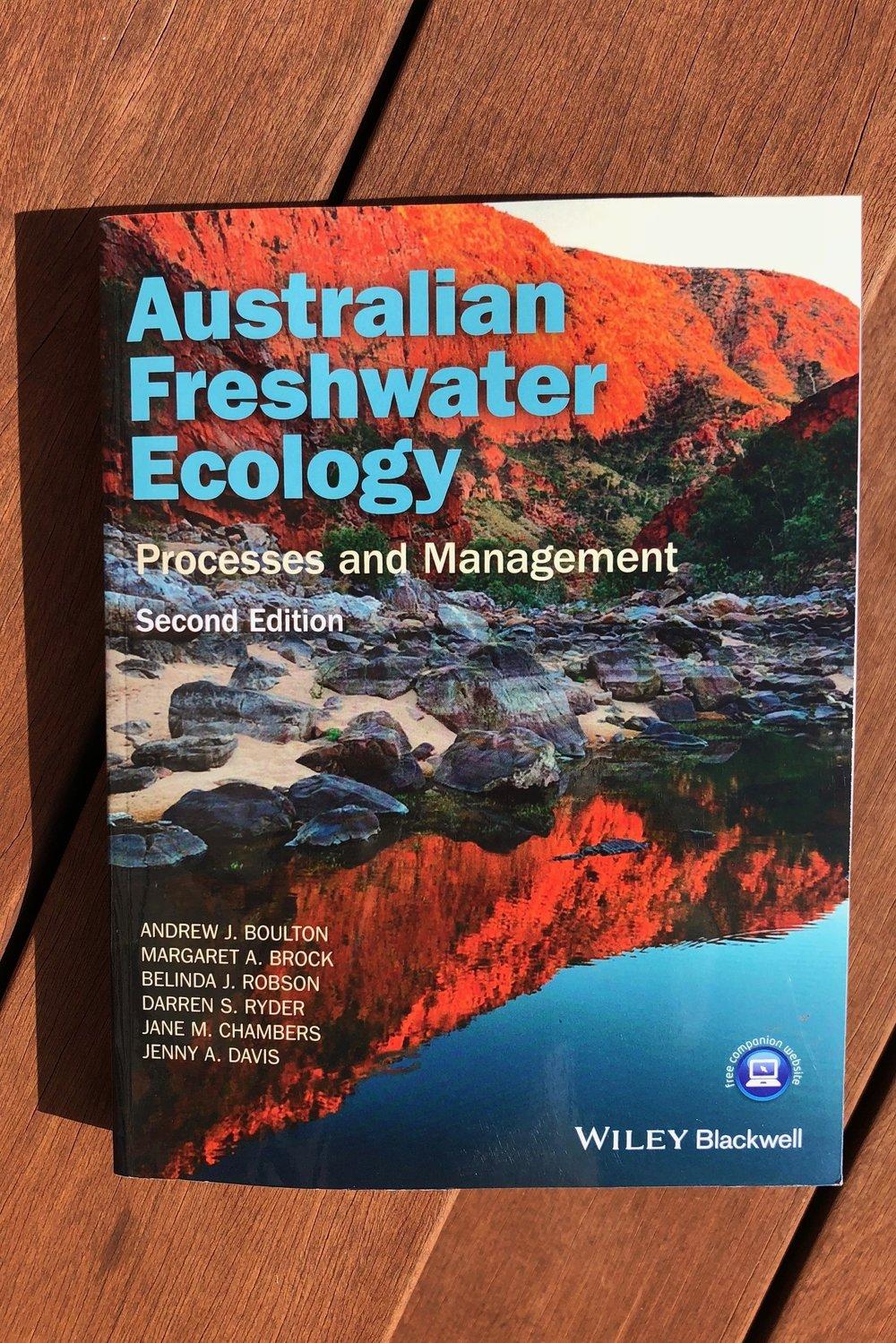 Australian Freshwater Ecology has been added