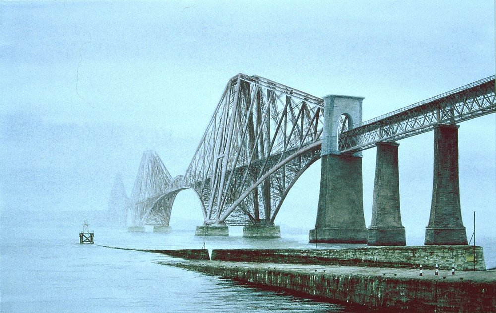 Forth Bridge - Out of the Mist