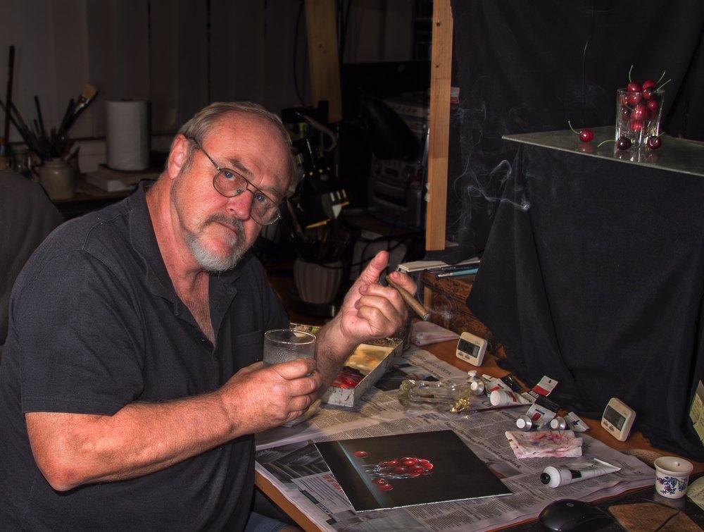 The artist in his studio  2 -selected.JPG