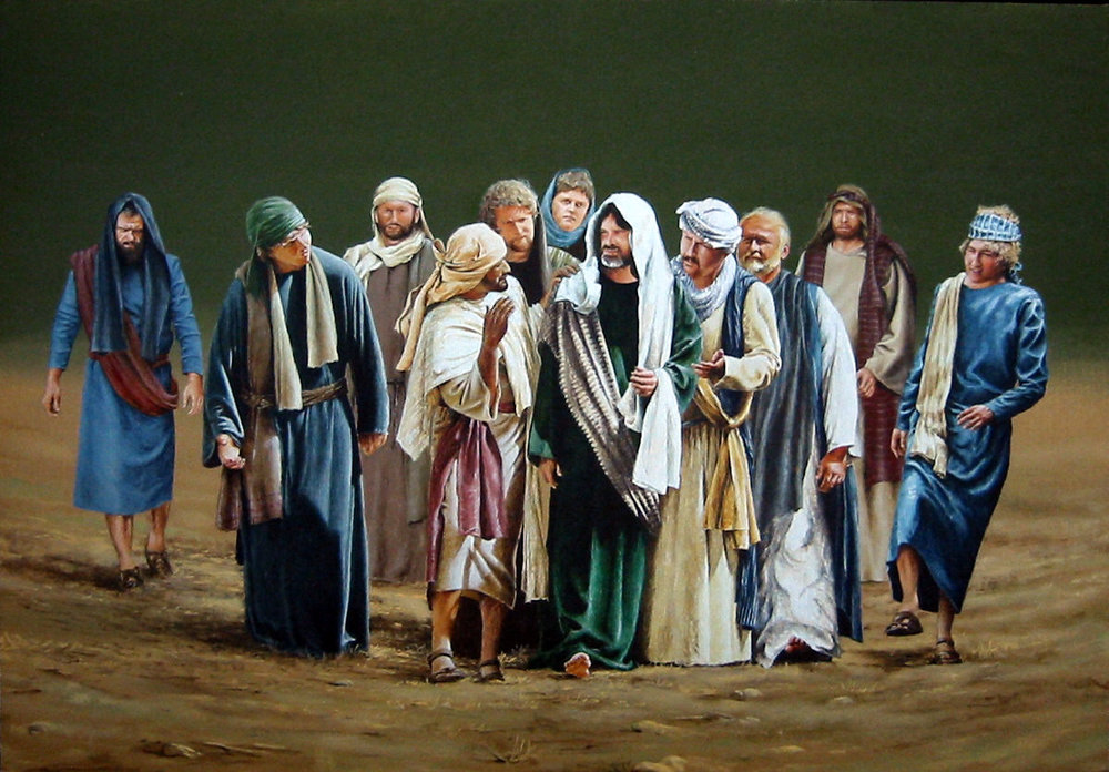 With The Disciples