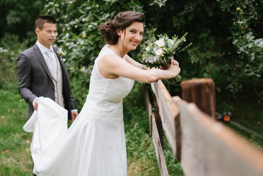 Photos de mariage couple homme femme robe de mariée photographe et vidéaste à Bruxelles