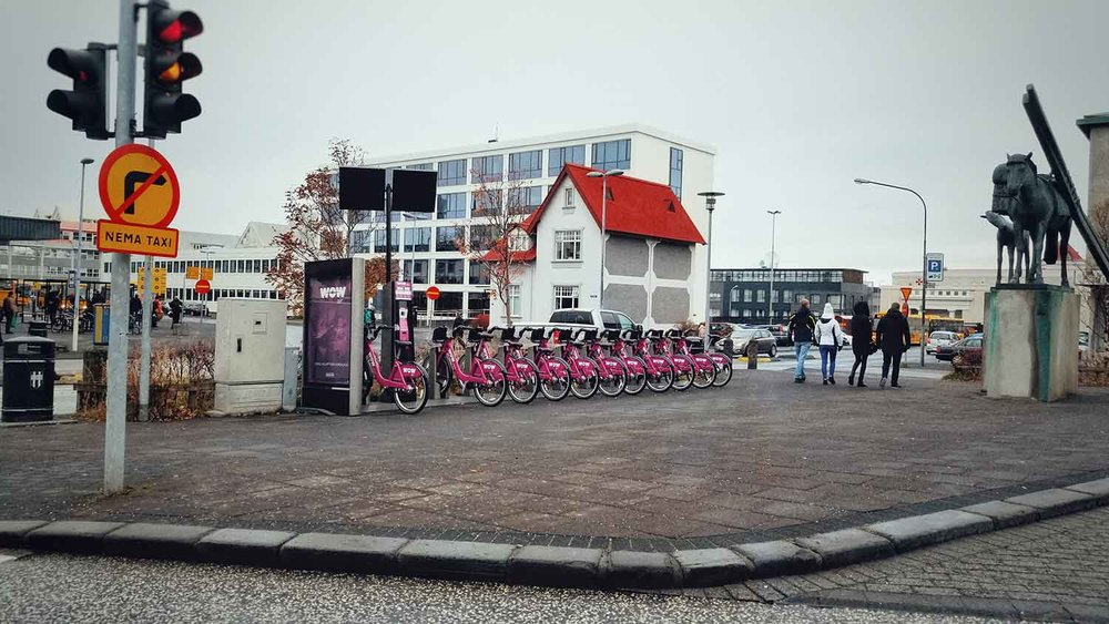 We found this bike rental in Reykjavik near the airport. We'll take advantage of this next time!