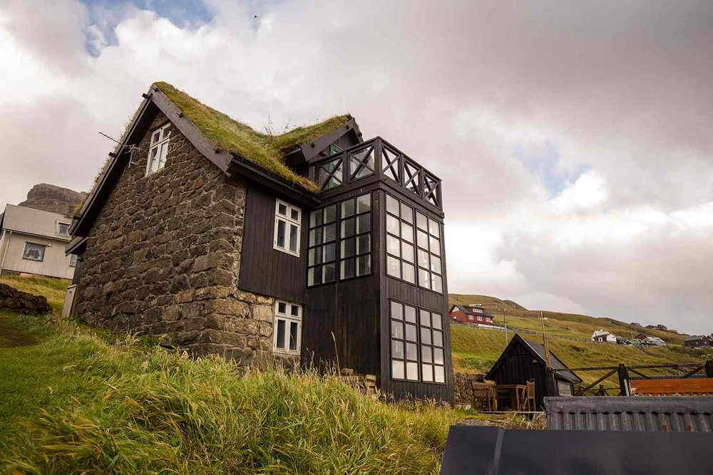Our final home in the Faroes.
