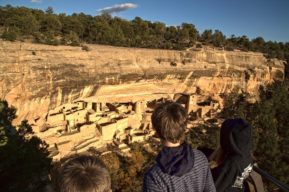 Ancient Cliff Dwellings.