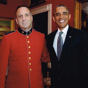 Bob with President Obama