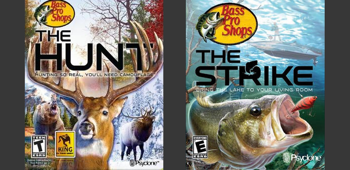 Bass Pro Shop - I was brought onto the team at 'Piranha Games' to work on polishing up these two hunting/fishing titles.