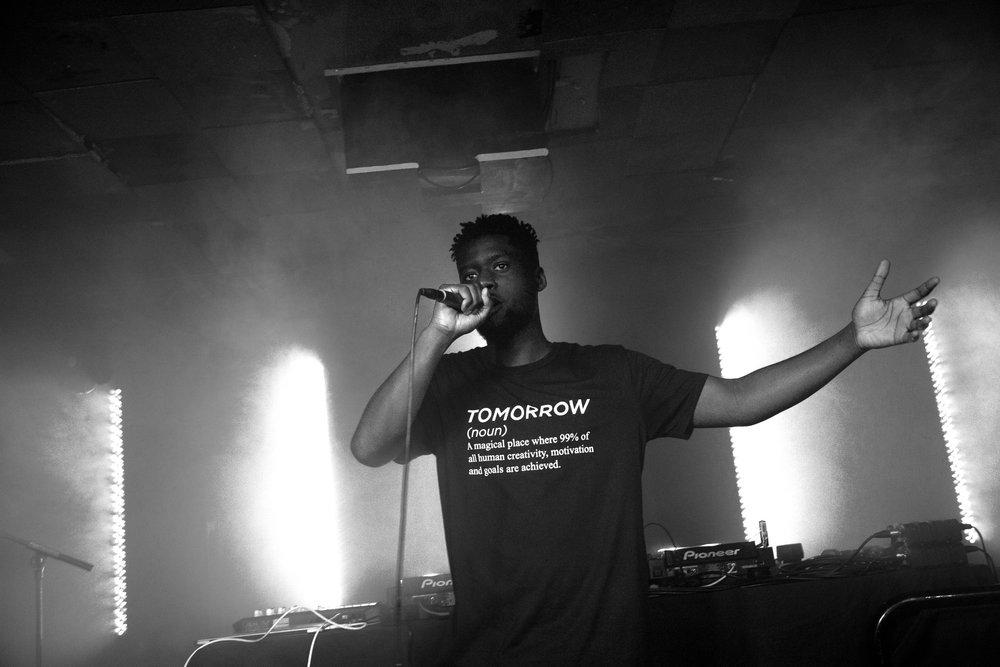 Madaliso performing at Birthdays, London 2018