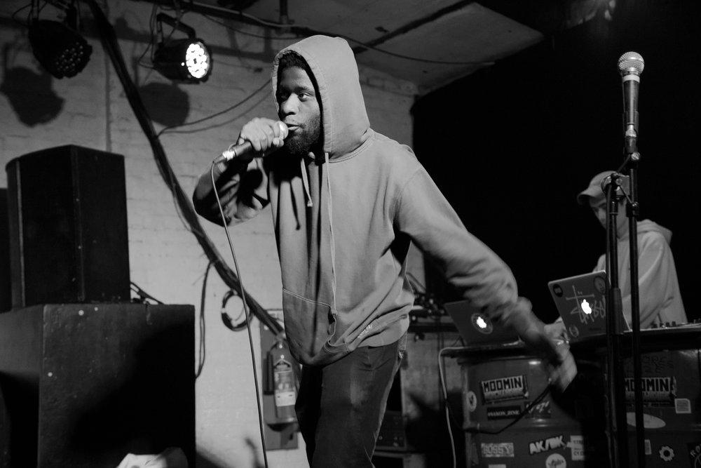 Madaliso performing at Green Door Store, Brighton 2018