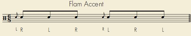 Flam Accents