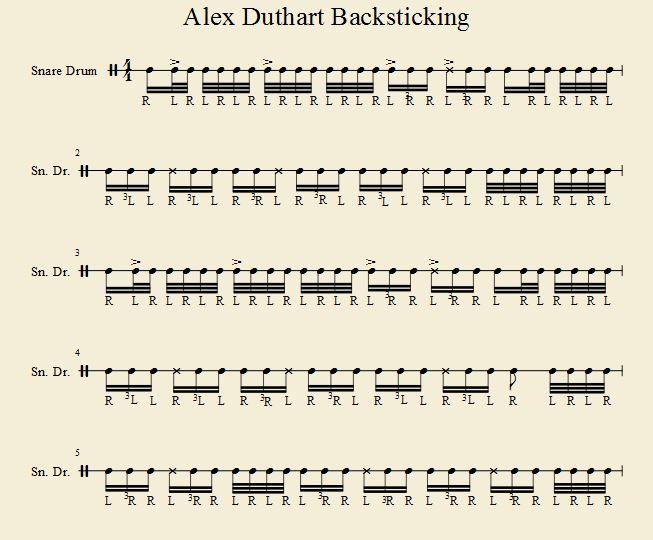 Backsticking 1