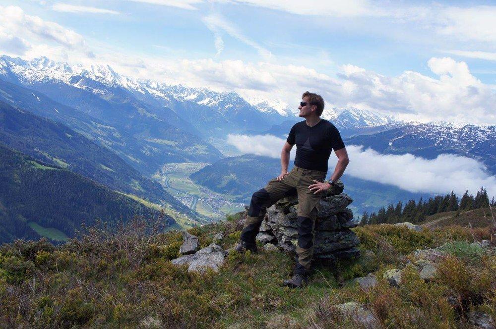 Trekking - damit der Blick von oben erhalten bleibt! Ich liebe es!