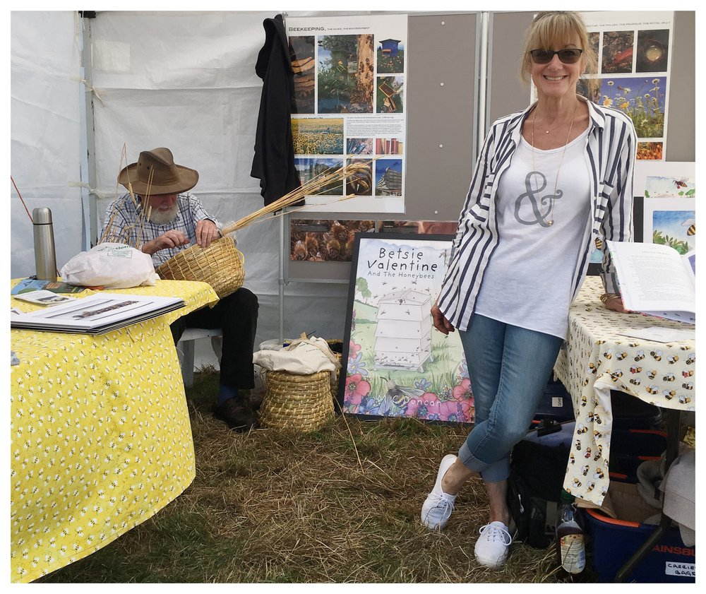 Chalfont Beekeepers stand.