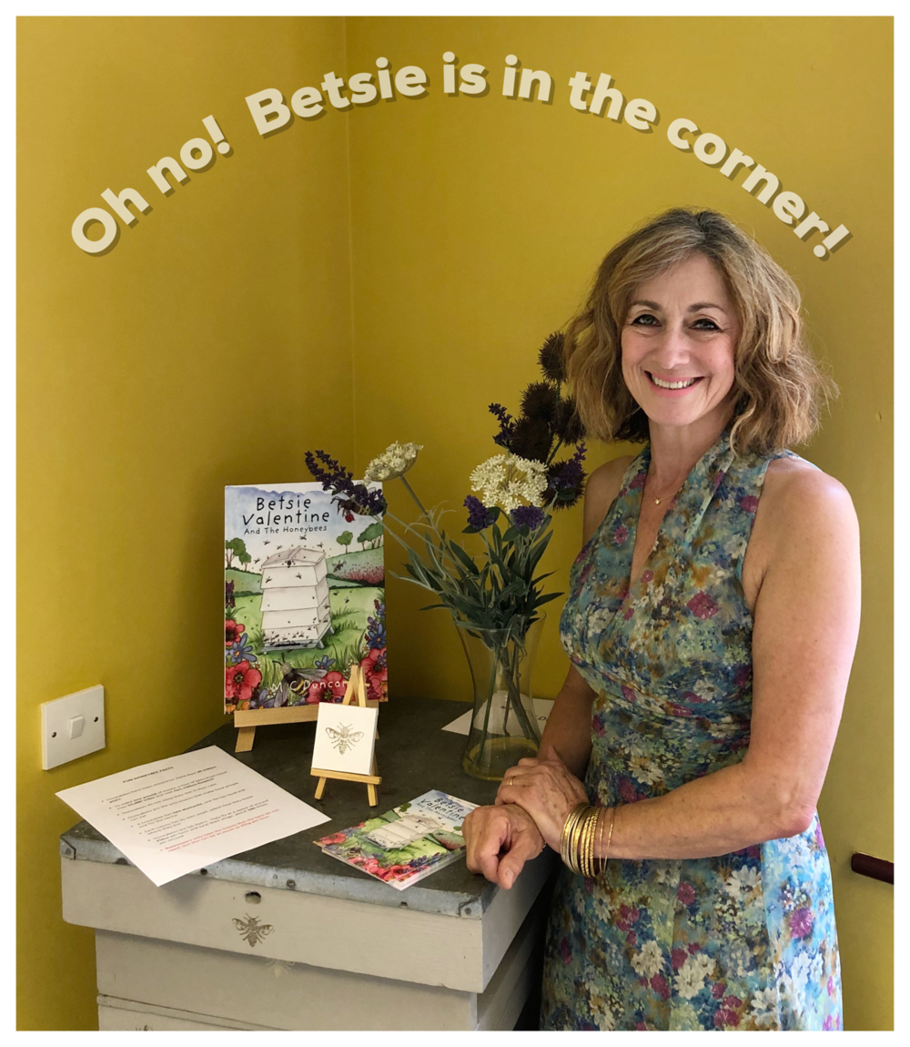Nobody puts Betsie in the corner…. or maybe they do!