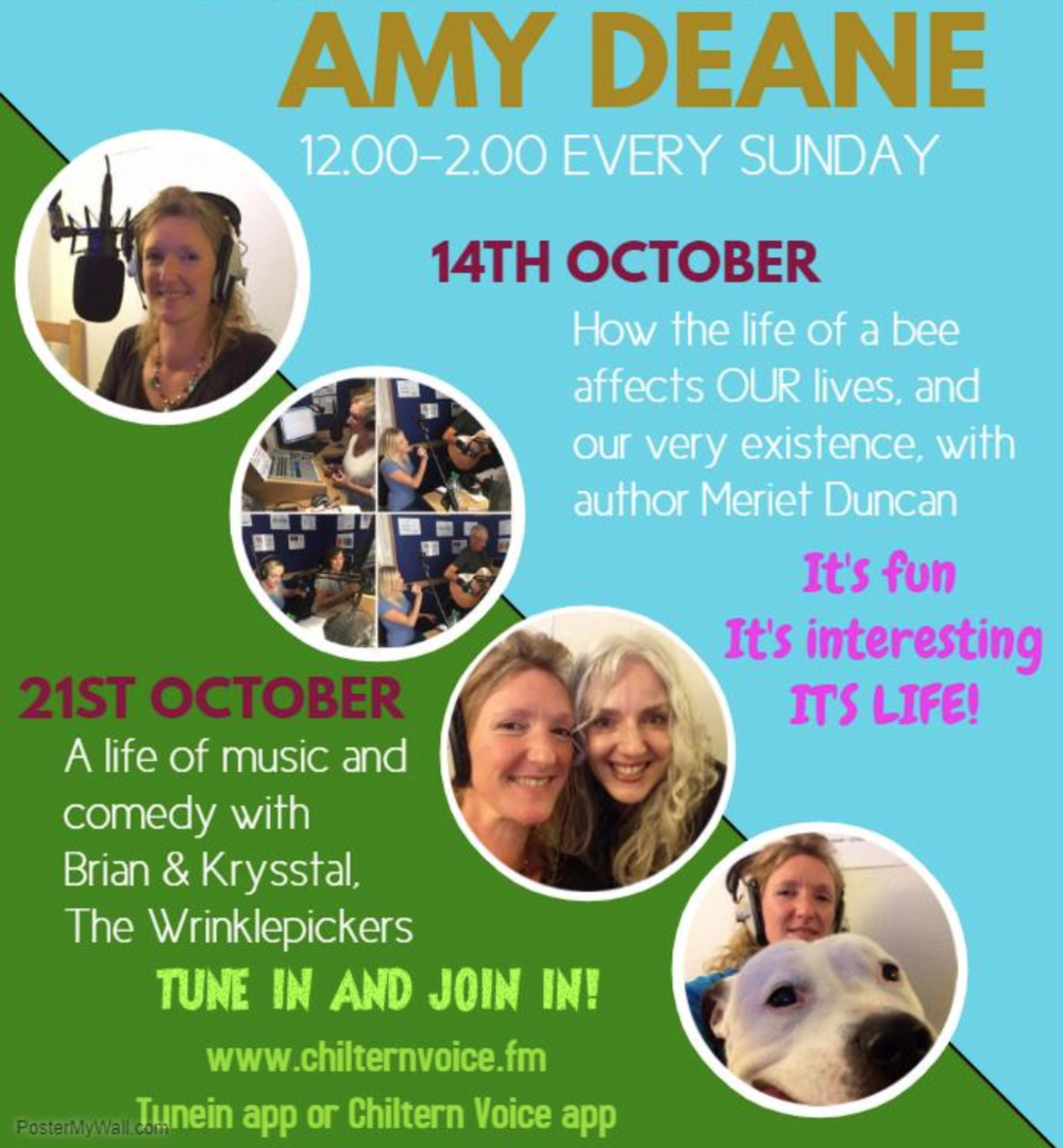 Everyone loves the honeybee. Find out more about these busy, buzzy little workaholics who are integral and essential to our very existence from Meriet Duncan, beekeeper and author of Bestie Valentine & The Honeybees. Tune in to This Life with Amy Deane this Sunday 12.00-2.00. You'll be buzzing by the end of the show!