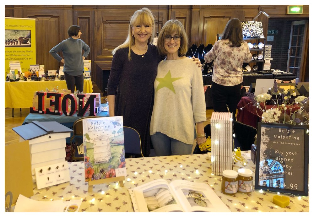 My lovely friend Nicola Sangwin, from doTerra at my stand at The Royal Masonic School in Rickmansworth. (www.mydoterra.com/nicolasangwindoterra.com)