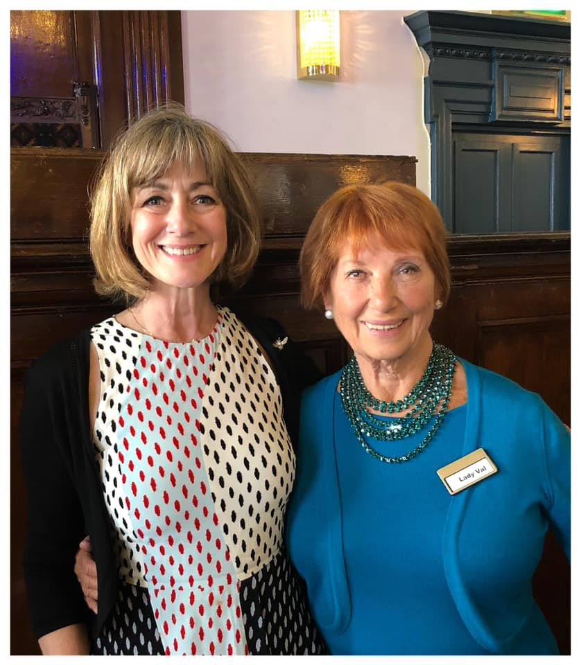 Lovely Lady Val who runs a wonderful Networking luncheon once a month..