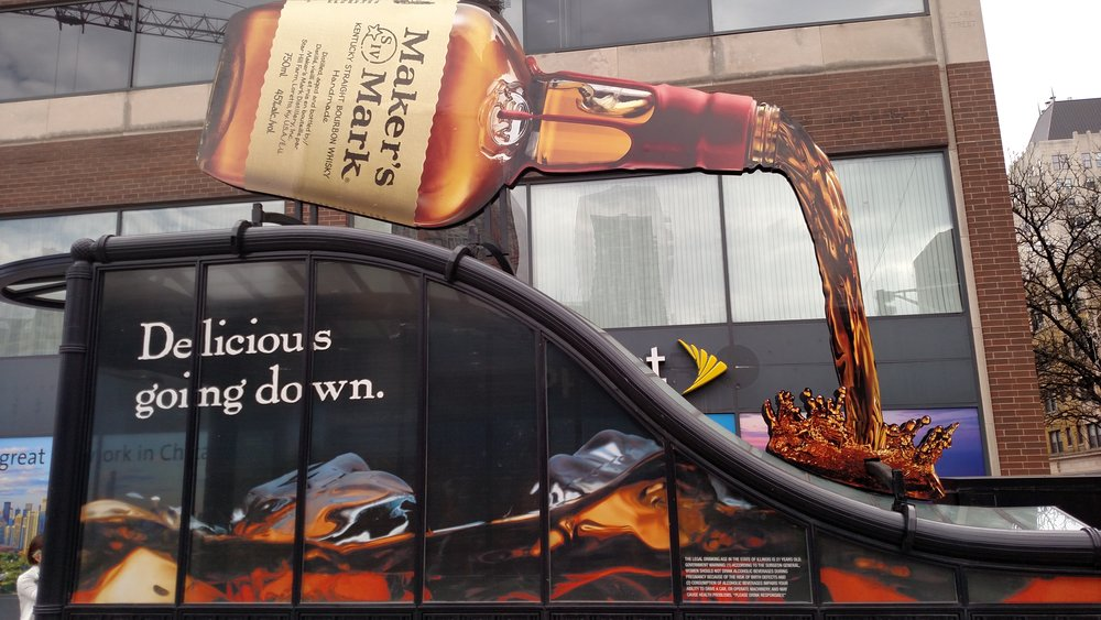 Illumivation Portfolio 2017 Maker's Mark Giant Bottle Intersection Chicago Creative Outdoor Advertising OOH Out of Home Marketing.jpg