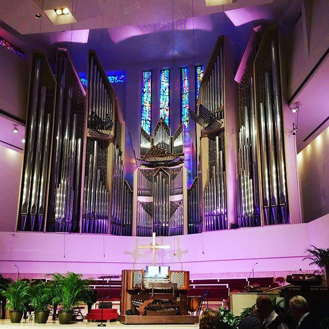 #Organ concert with Diane Bish #crpc #concertseries #vip #thosepipes #allthestops