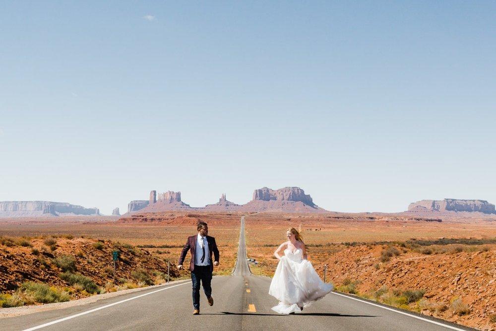 Married Couple Runs through the Desert.jpg