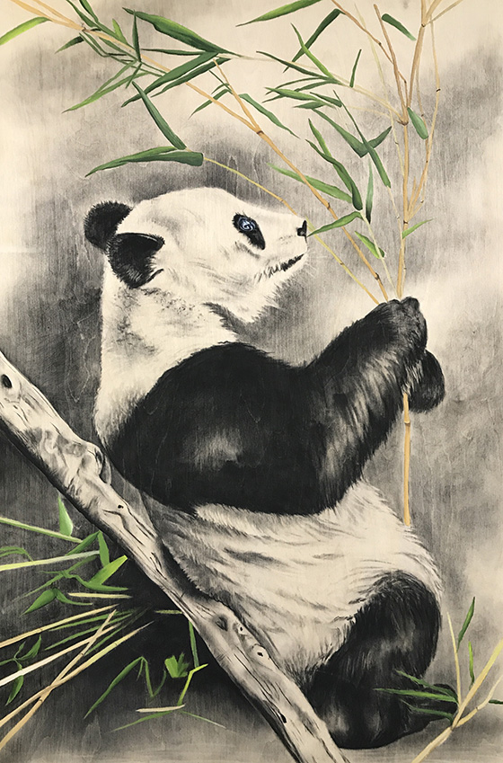 Playful Panda © 2018 April Howland | All Rights Reserved