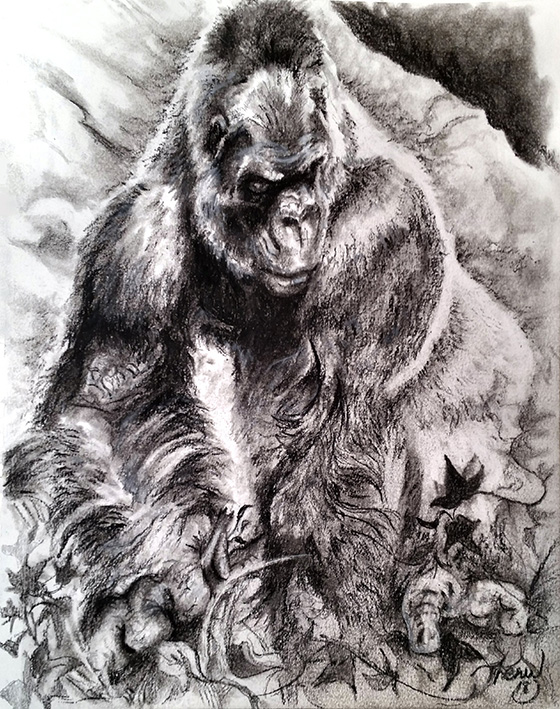 Silverback © 2018 Theww Williams | All Rights Reserved