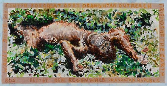 Orangutan © 2018 Jacklyn Gratzfeld   All Rights Reserved