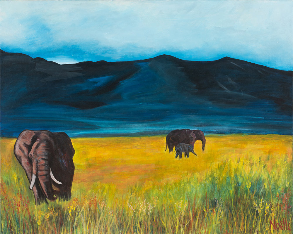 Elephants In The Wild © 2018 Noelle Mccarthy | All Rights Reserved