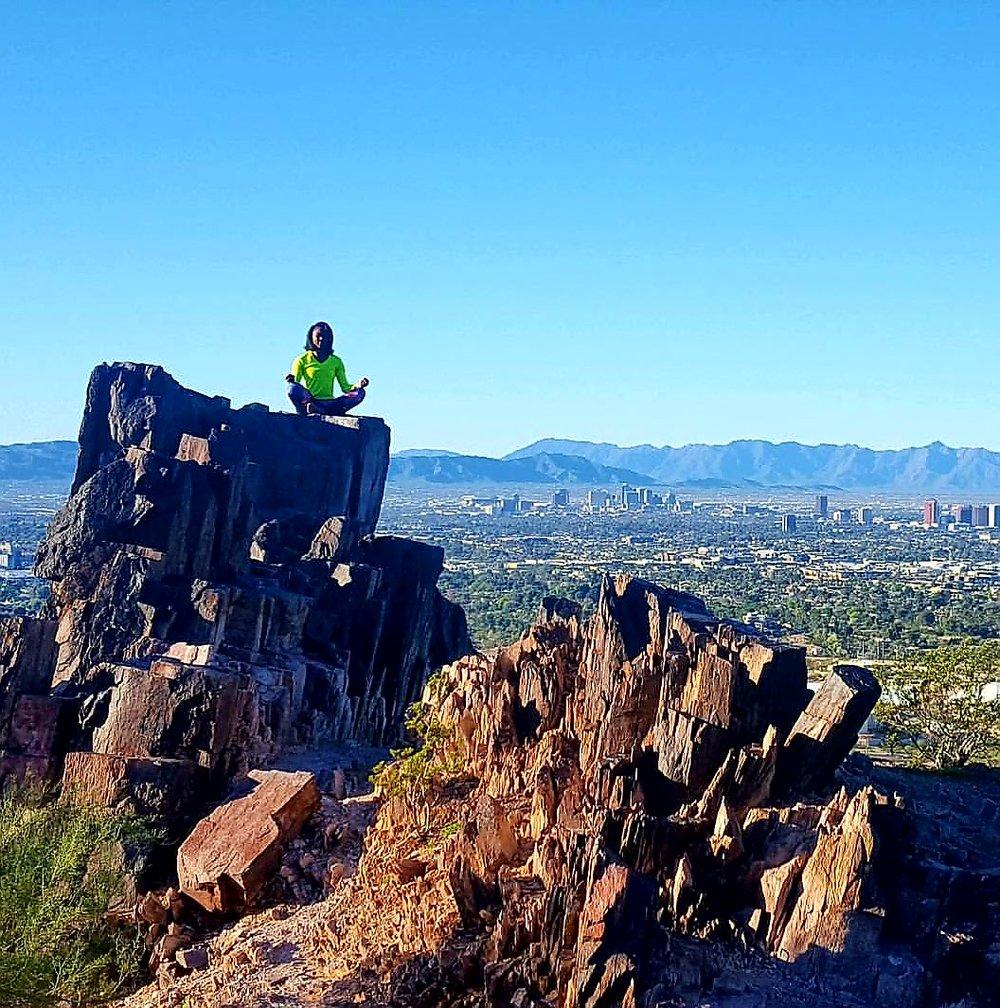 Piestawa Peak in Phoneix, Arizona