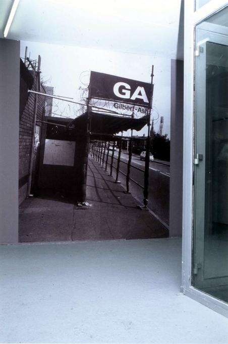 """""""Color Fields"""". Glassbox, Paris, 2005."""