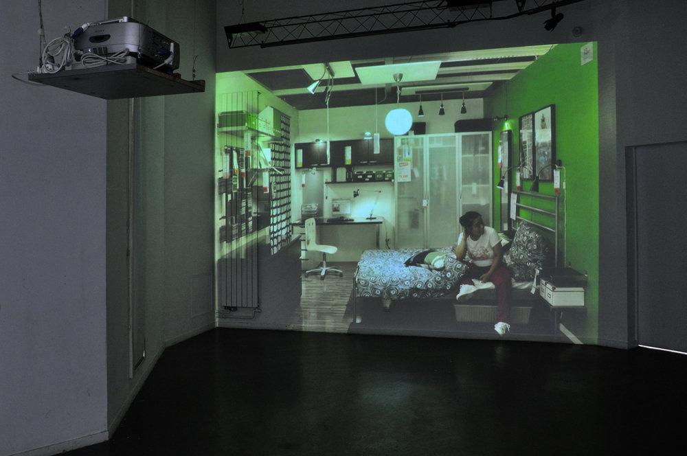 """""""Paysages déplacés / Displaced Landscapes"""", Ecole des Beaux-arts, Le Mans, 2011."""