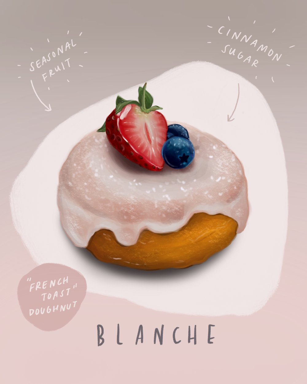 The ultimate vegan doughnut at Blanche (Marlborough Road)