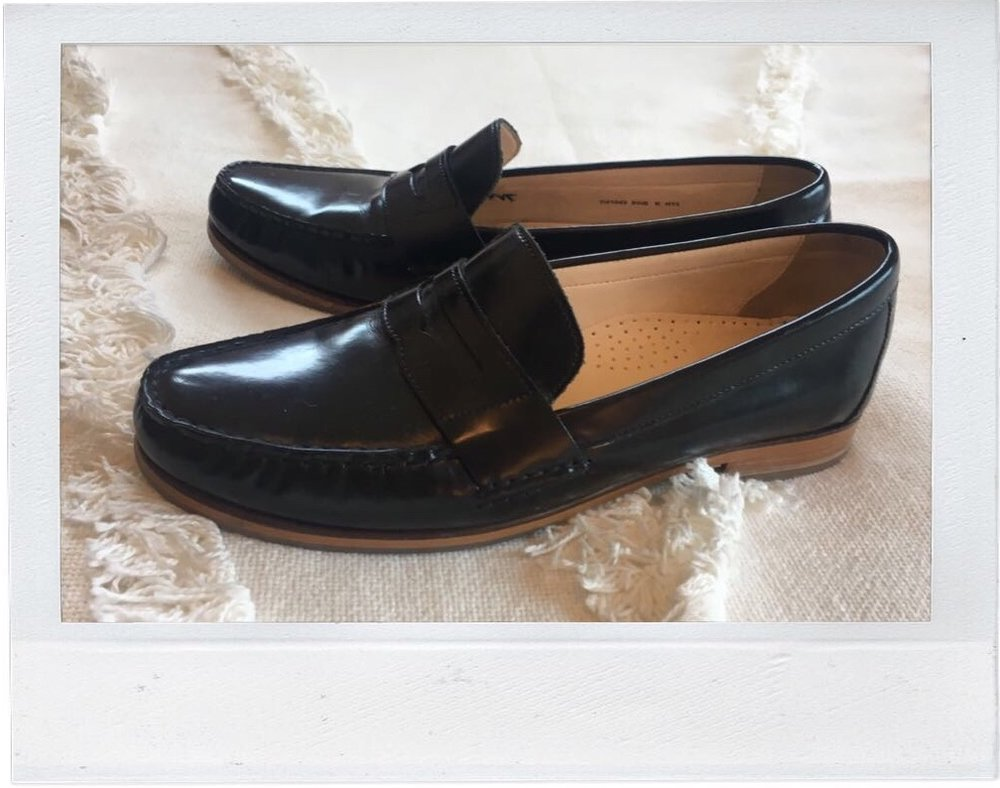 Still not over how beautiful these loafers are.