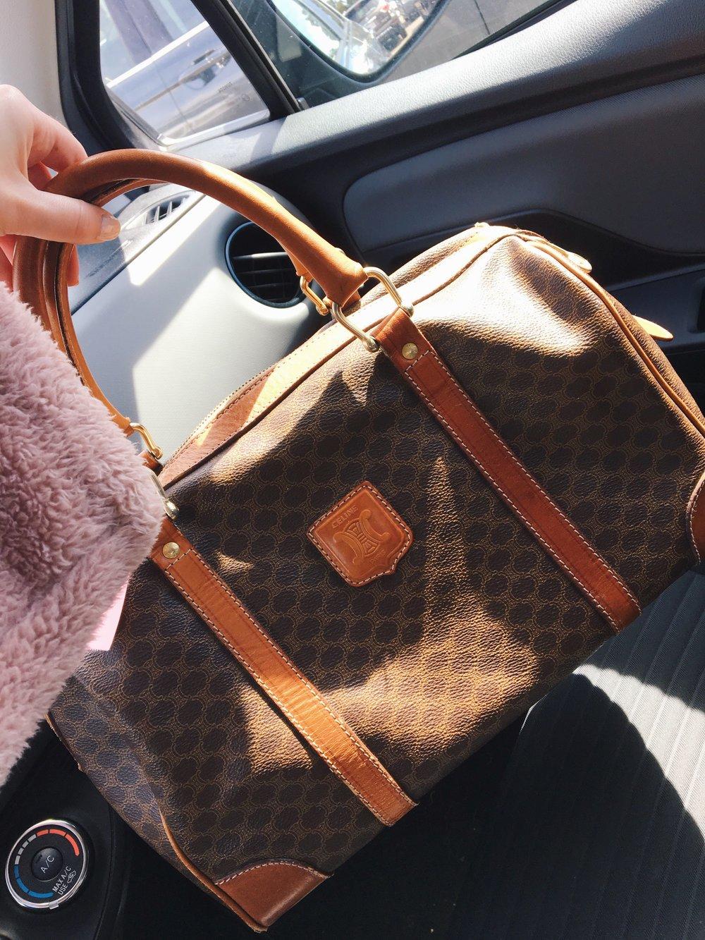 The Celine bag.