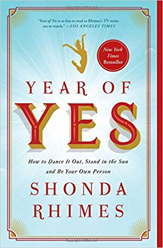 """Get """"Year of Yes"""" on Amazon"""