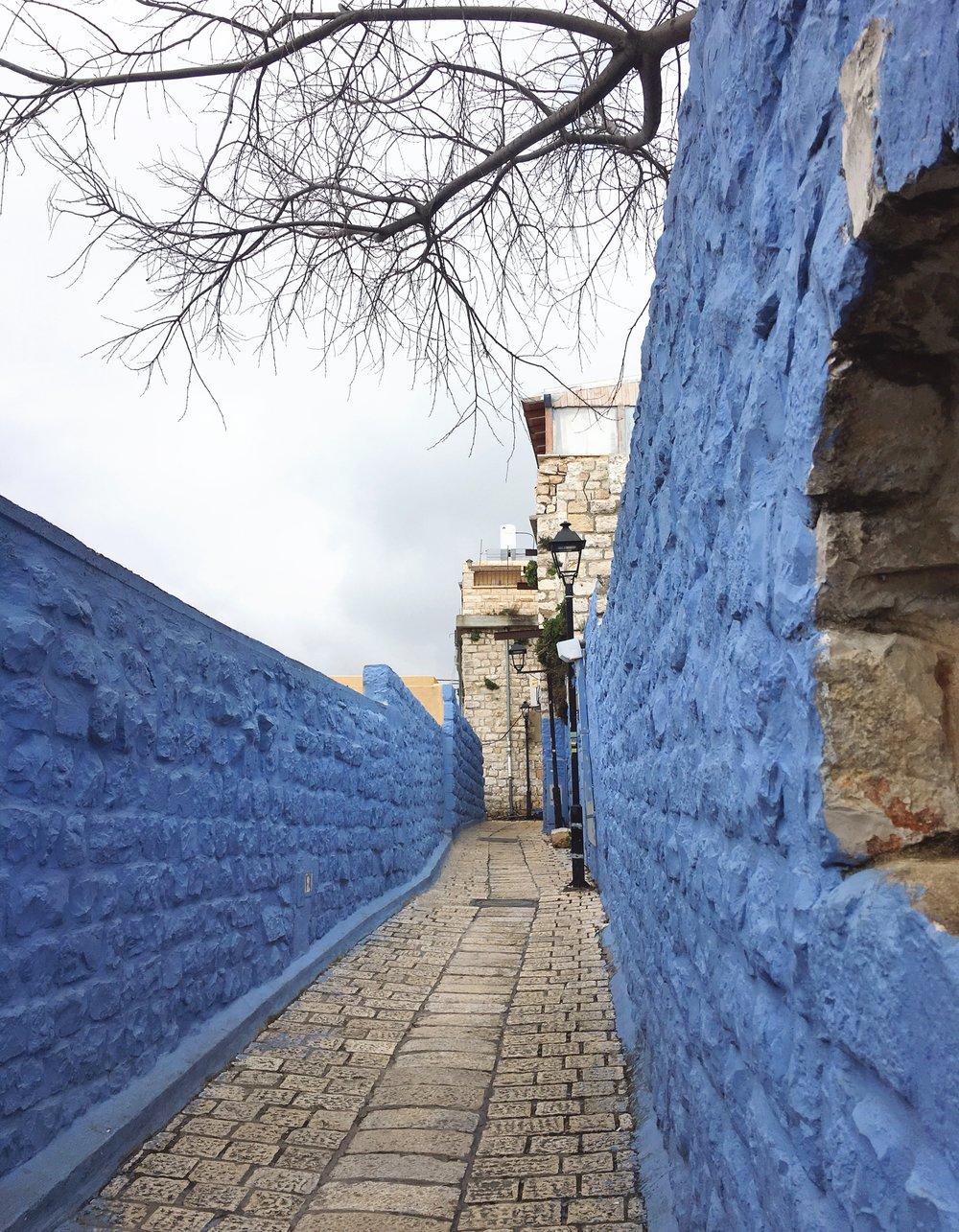 Tzfat walls.JPG