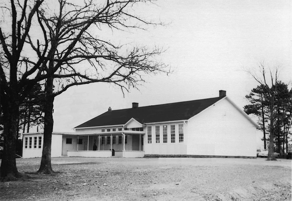 High Plains School circa 1950
