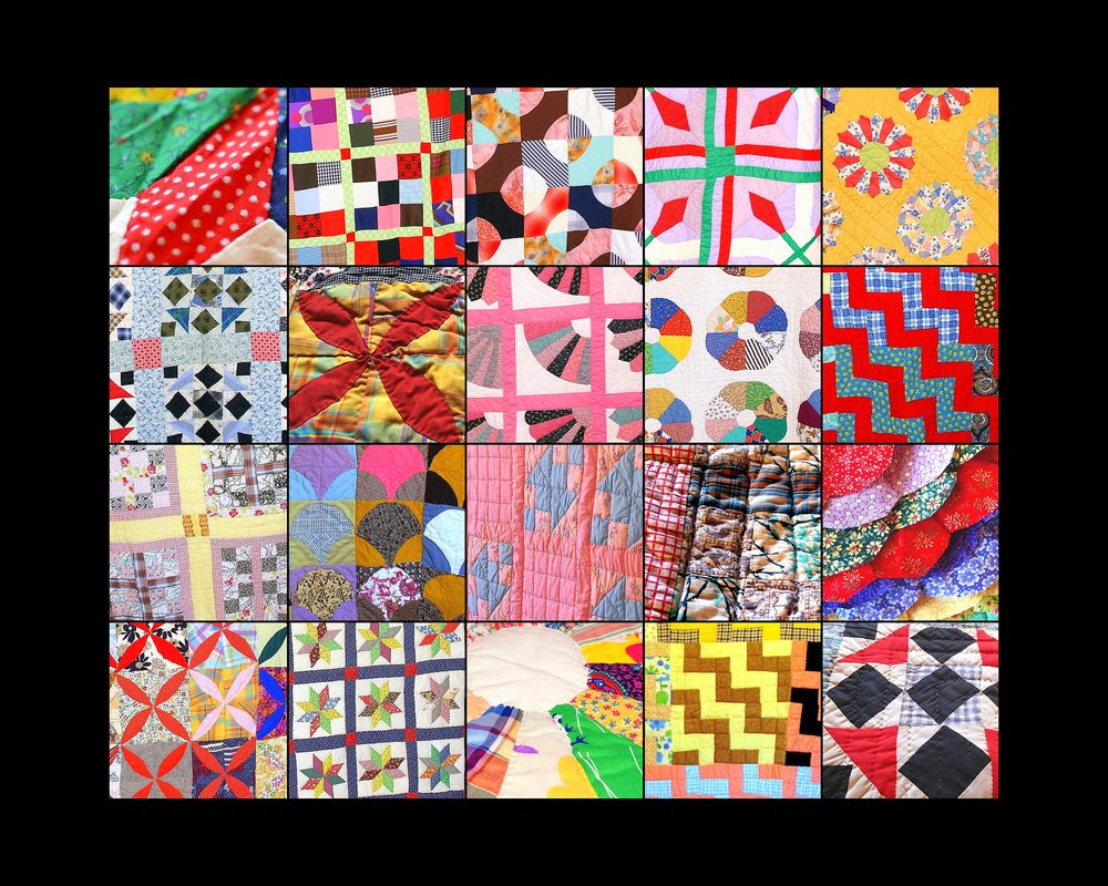 Quilts at the 2007 Quilting Bee