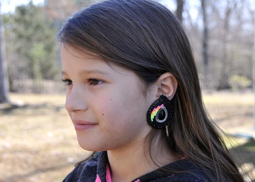 BEadwork Earrings by Teryn (Stewart) Brewington