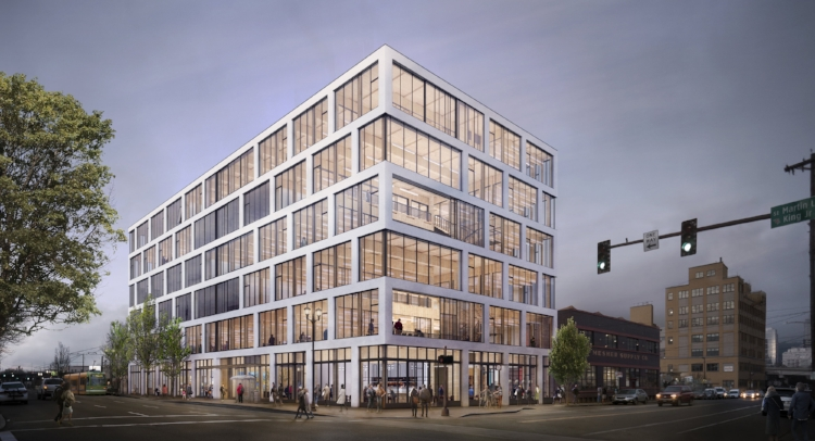 The mass timber project is underway just as another timber building was scrapped.