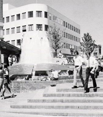 O'Bryant Square in better times, circa 1976.