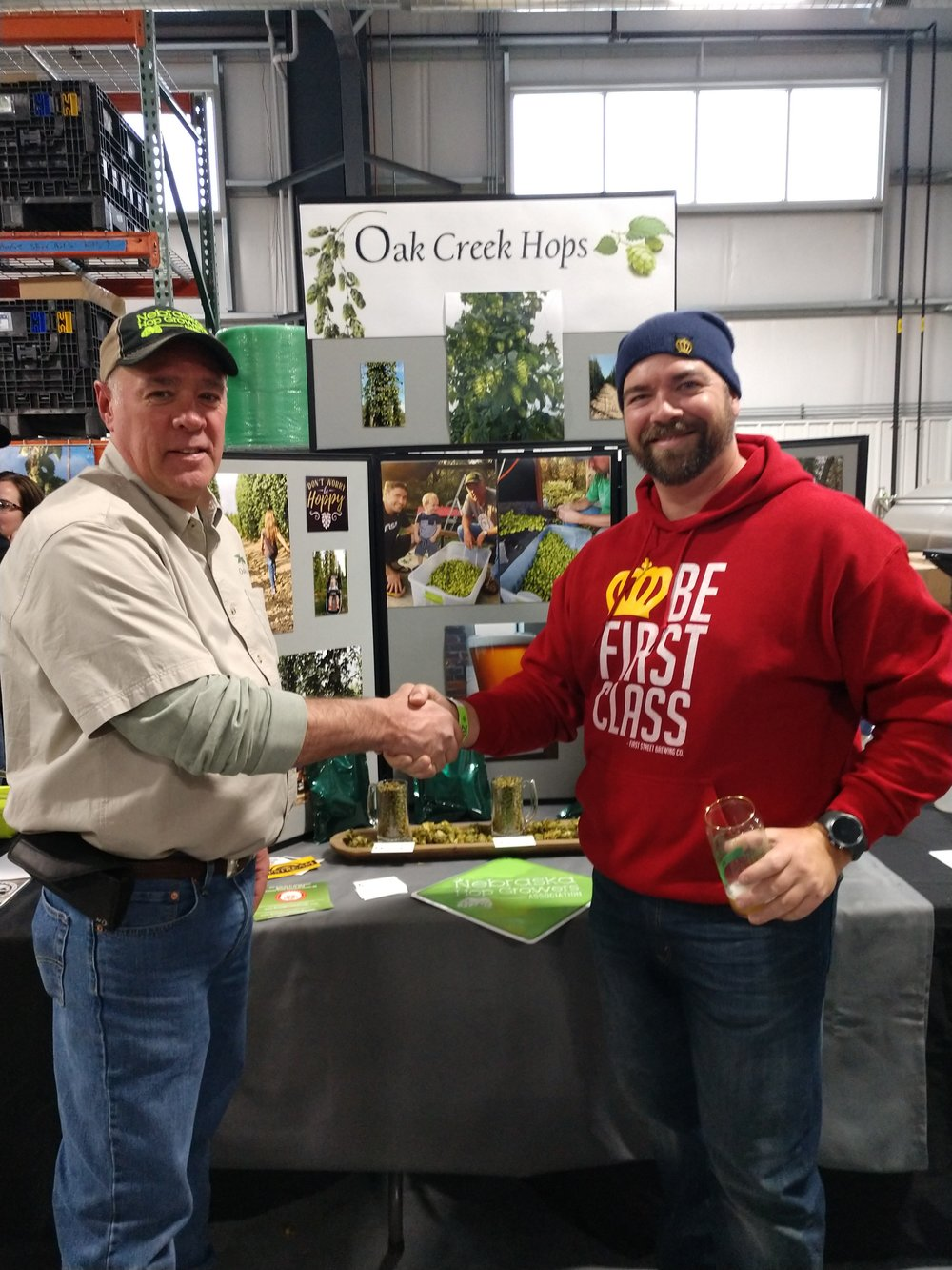 2018 Top Hop - Nathan Hoeft (First Street Brewery, Hasting, NE) & Dave Gleason